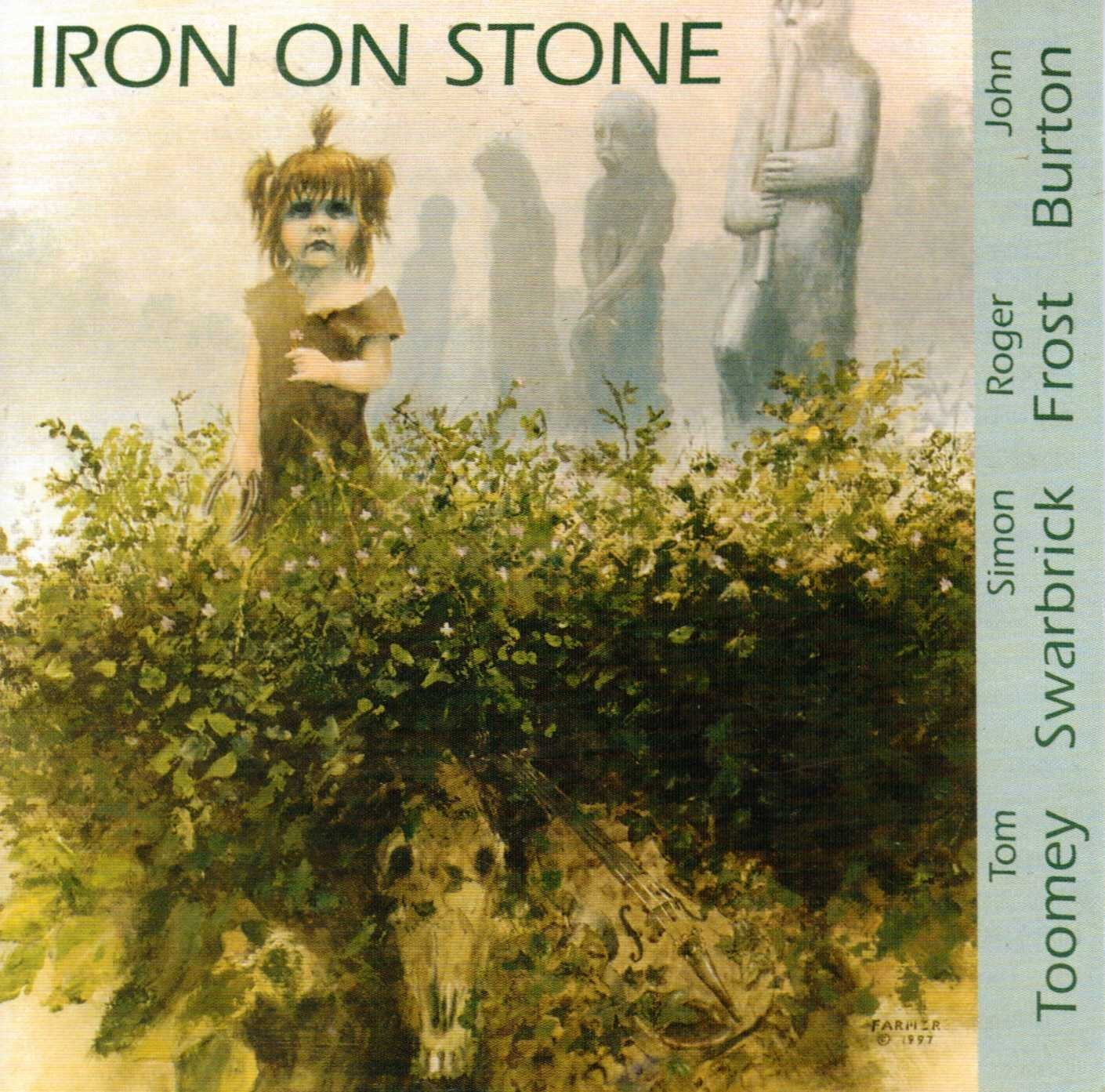 TOOMEY IRON ON STONE CD FRONT